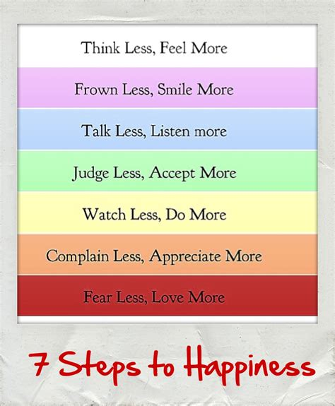 Ten Steps To Happiness by I These 7 Steps To Happiness Carpe Diem Moments
