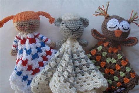 bunny lovey crochet pattern free crochet lovey blankets owl kitten bunny teddy bear and