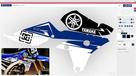 design your own motocross designing your own decals couldn t be easier with motocal