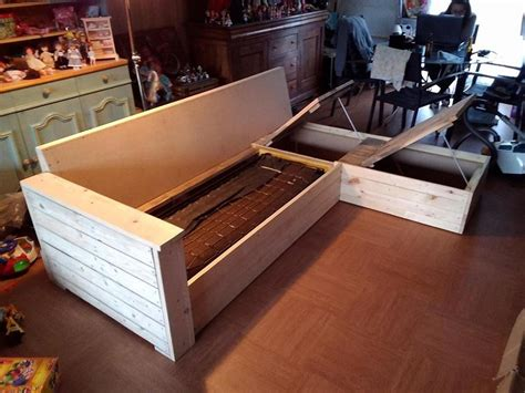diy storage couch diy pallet furniture ideas to improve your cozy home