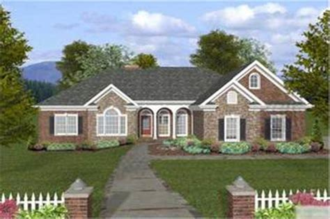 ranch traditional home   bedrms  sq ft plan