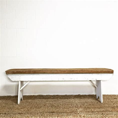 farmhouse table with cushioned bench 50 inspired farmhouse bench cushion