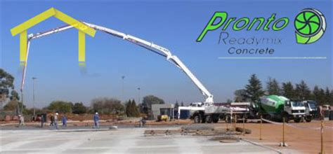 pronto readymix concrete suppliers and manufacturers of