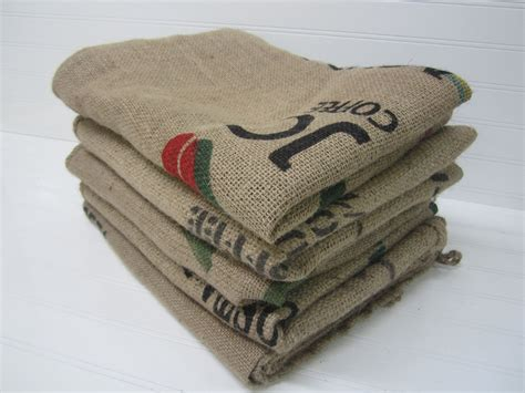 5 burlap coffee bags burlap coffee sacks coffee bags by