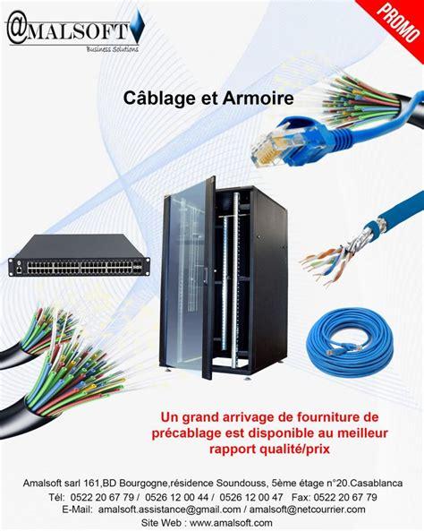 Cablage Armoire by C 226 Blage Et Armoire Informatique 224 Djibouti
