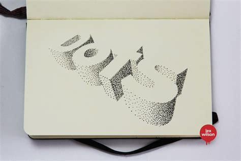 3d typography 3d typography by wilson 3 fubiz media