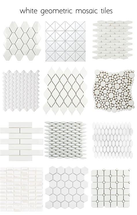 geometric pattern kitchen tiles white geometric tiles many more patterns polymer