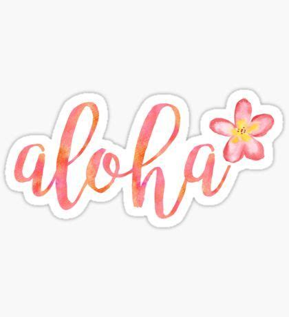 Aloha Sticker aloha sticker sticker plans explore