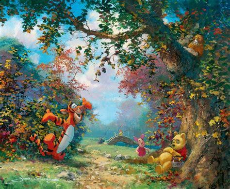 winnie the pooh painting coleman 1949 walt disney tutt