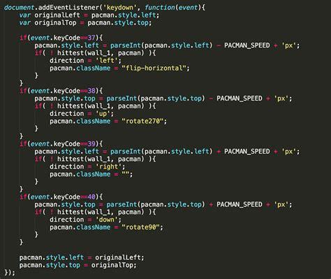 pacman code web designer