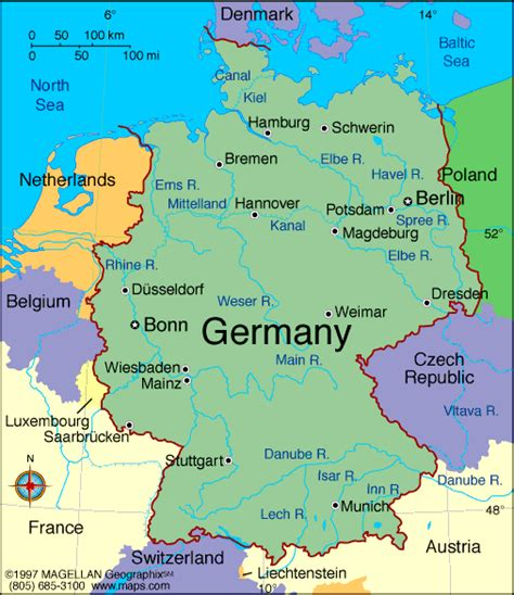 europe germany map maps germany map maps of germany europe