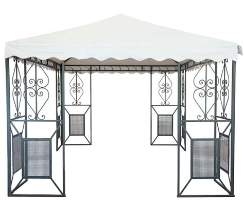 gazebo 5x4 linea giardino friendly gazebo 5x4 in ferro battuto