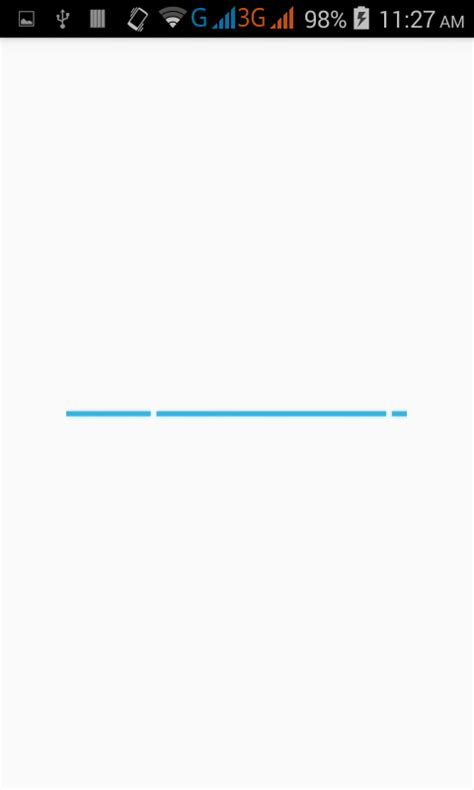 android progress bar create show custom indeterminate progress bar in android programmatically android exles