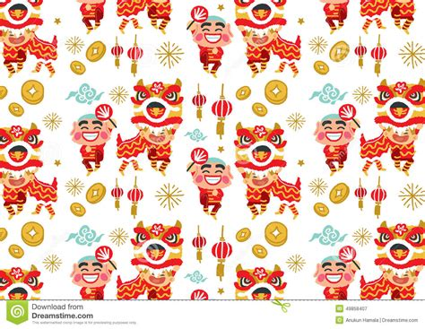 new year pattern ai new year vector pattern stock vector