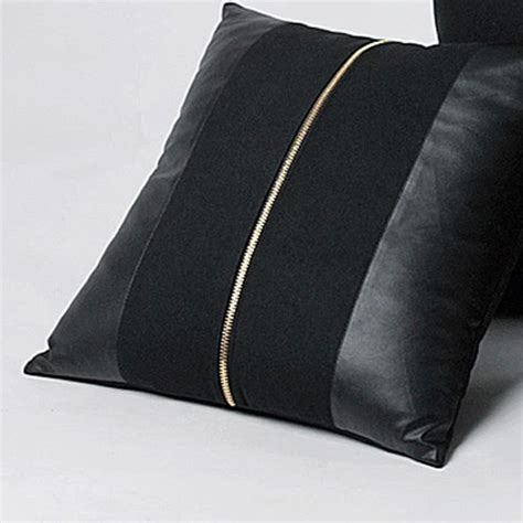 Throw Pillows For Black Leather by Best 25 Leather Pillow Ideas On Diy Interior