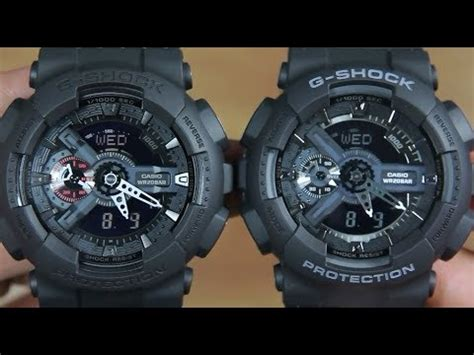 Casio G Shock Ga 110mb 1adr casio g shock ga 110mb 1a vs g shock ga 110 1b