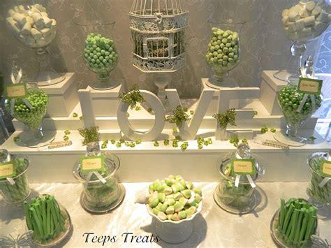 green buffet green and white wedding buffet buffets by