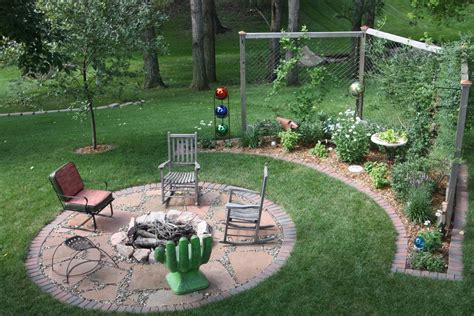 backyard landscaping ideas with pit backyard pit