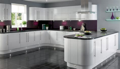 gloss kitchen designs white gloss kitchen ideas