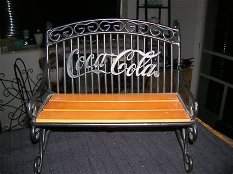 coca cola park bench coca cola collectibles price guide