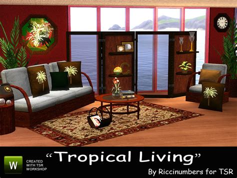 tropical living room furniture thenumberswoman s tropical living room