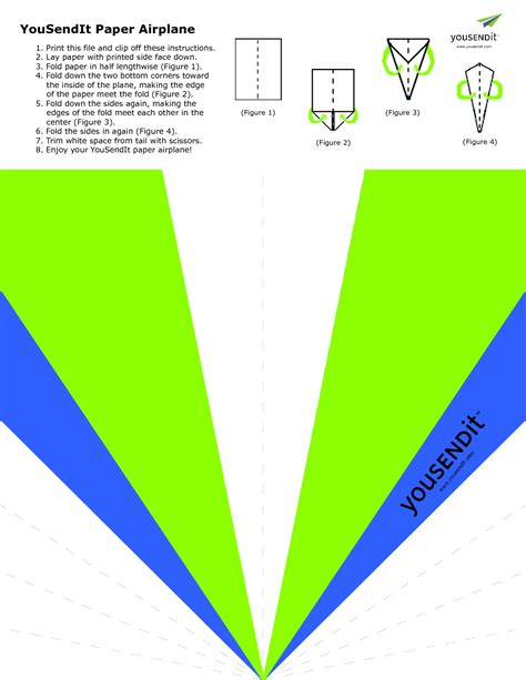 paper airplanes templates 6 best images of printable paper airplane templates