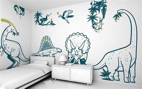 decoracion habitaciones infantiles dinosaurios murales dinosaurios habitaci 243 n infantil mundo jur 225 sico