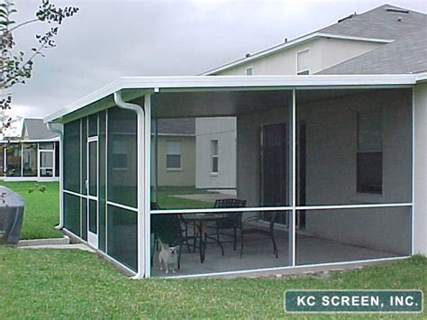 Aluminum Screen Porch Framing porches patios for central florida kc screen