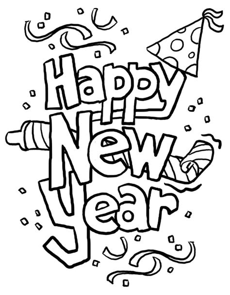 new year s colors new years coloring pages free printable coloring pages
