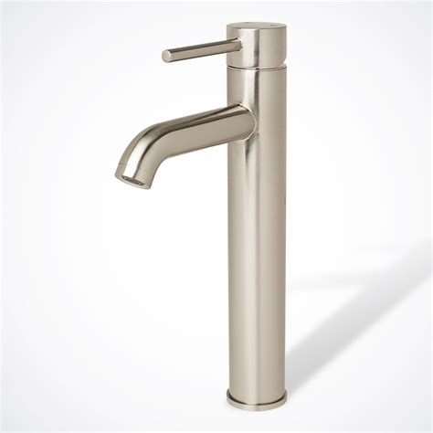 Bathroom Faucets Modern New 12 Quot Modern Contemporary Bathroom Faucet Vessel Sink Lavatory Brushed Nickel Ebay