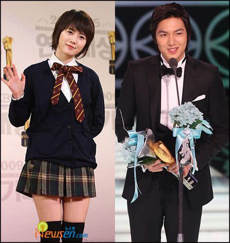 lee minho dan goo hye sun 2014 2009 kbs drama awards winners asianfamily