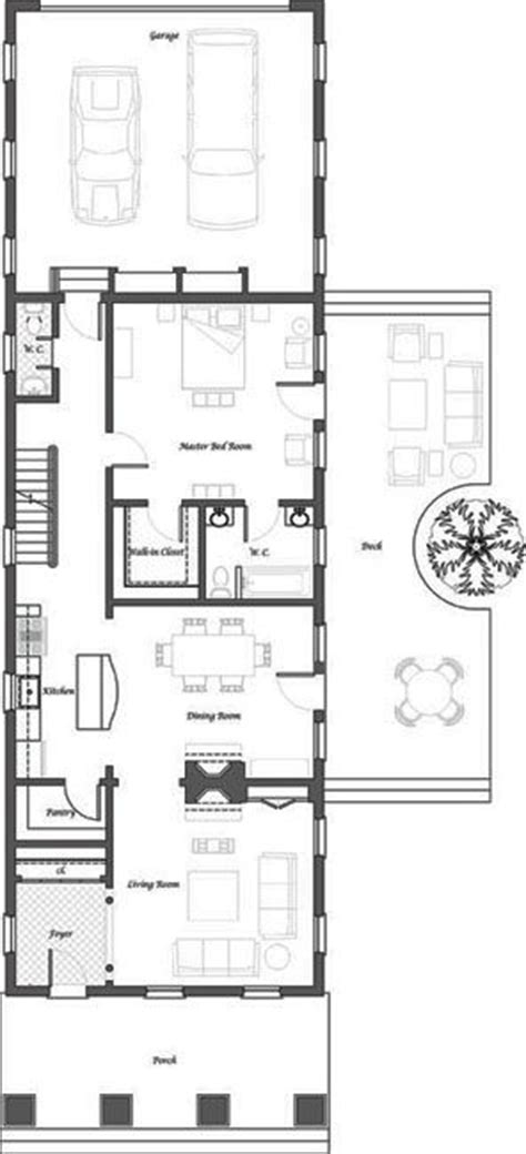 shotgun house layout shotgun house plans modern google search small house