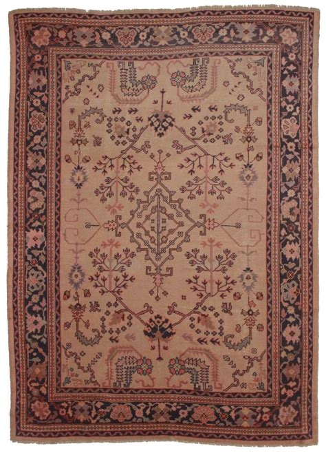 Antique Rugs Antique Turkish Oushak 9x12 Wool Rug 3675