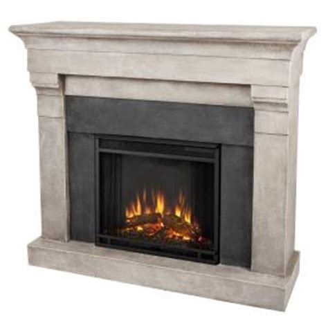 real torrence 51 in cast indoor electric fireplace