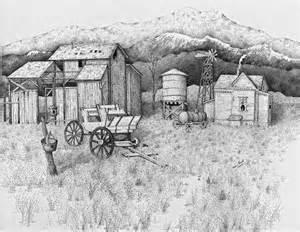drawings of barns drawing quot abandoned farmhouse barn quot original