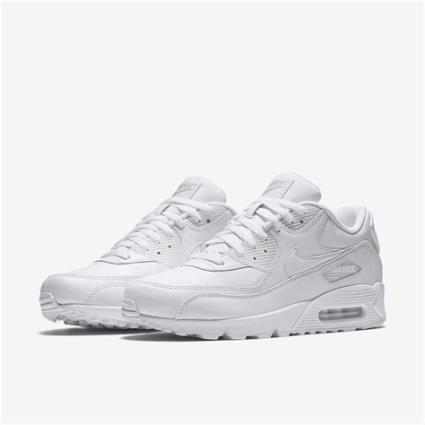 all white nike mens shoes nike air max 90 leather s shoe nike