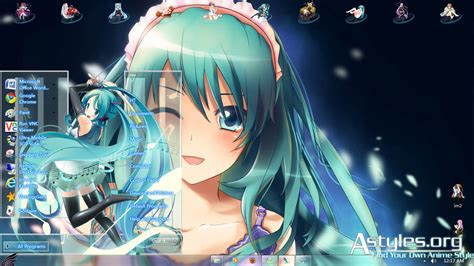 theme windows 10 hatsune miku win7 hatsune miku v10 by hoangtush on deviantart