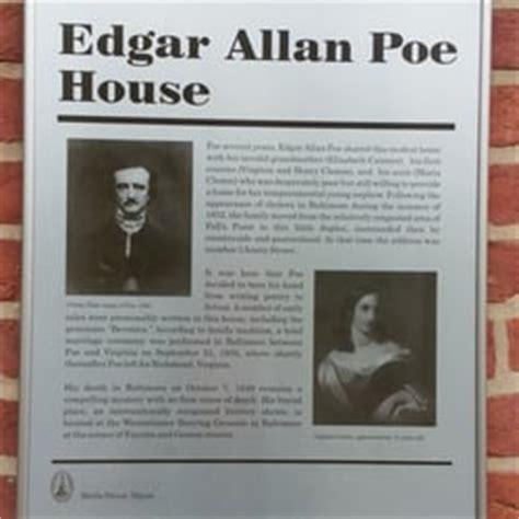 edgar allan poe museum biography edgar allan poe house museum 38 photos 31 reviews