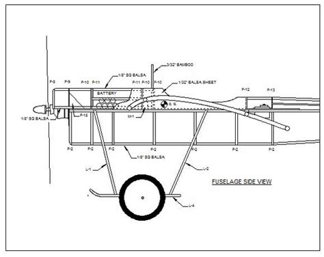 aircraft layout and detail design model airplane design