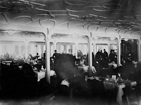 titanic 1st class dining room 100 years later a snapshot of life on the titanic