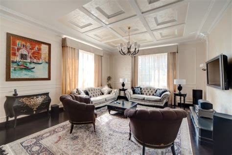 Traditional Interior Design Traditional Interior Design In Creme Color Scheme With