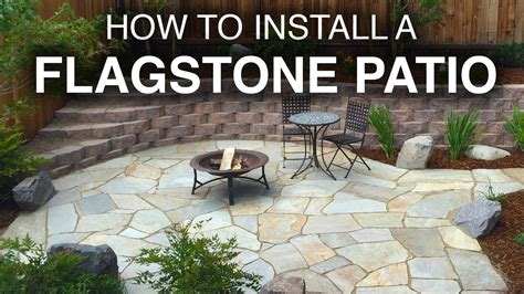 how to lay flagstone patio how to install a flagstone patio step by step