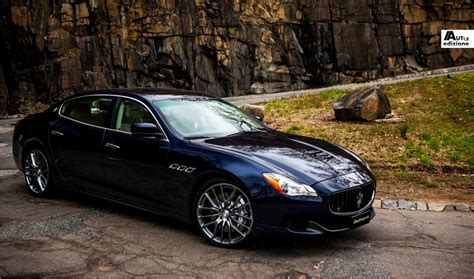 blue maserati quattroporte the maserati quattroporte arrives in the us autoedizione com