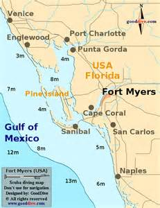 ft myers florida map florida map ta to fort myers