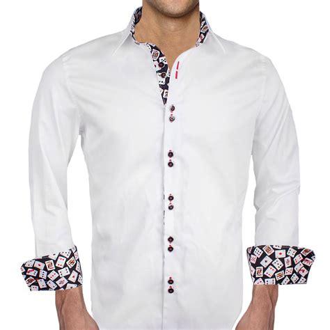 design dress shirts poker themed dress shirts