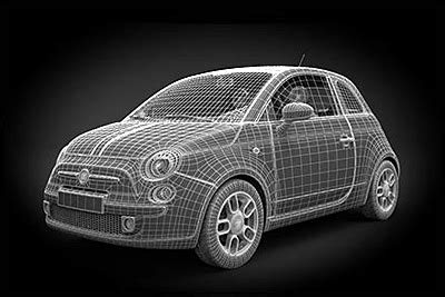 Modelli 3d by 3d Cars 169 Fuchs Carwrapping