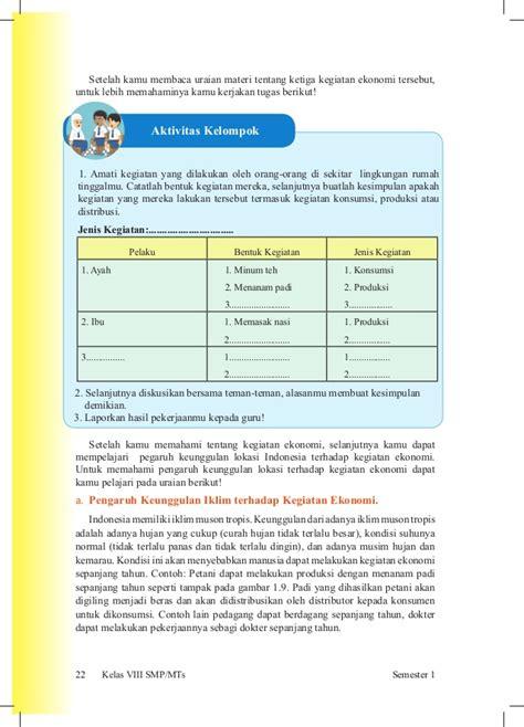 Buku Ips Smp 2 Vlll buku siswa ips kelas viii smp kurikulum 2013