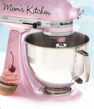 Painting Kitchen Aid Mixer by Custom Painted Kitchenaid Stand Mixer Painted