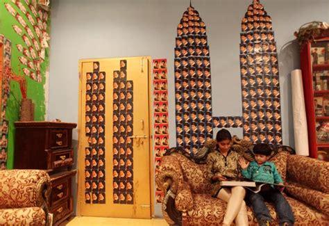 shahrukh khan living room pix is this shah rukh khan s fan rediff