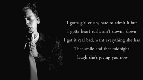 crushing on the girls from the hour style wanderings harry styles girl crush cover lyrics youtube